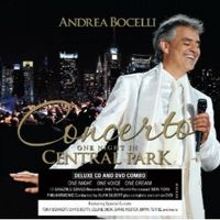 Concerto: One Night in Central Park [Cd+Dvd]