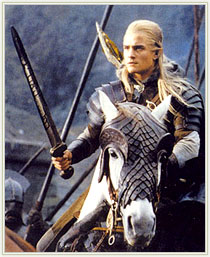 The Lord of the Rings - Orlando Bloom, Legolas rolünde.