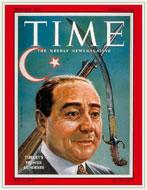 Adnan Menderes - Time kapağı. Büyütmek için tıklayın
