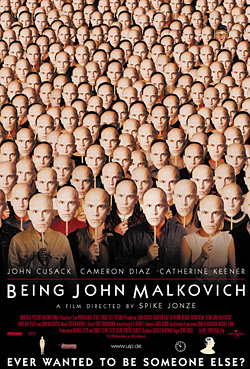 being john malkovich identity essay Chock full of symbolism, most of it dealing with manipulation, lack of identity orson bean is also wonderful as a 105 year-old bodysnatcher and charlie sheen is great at being charlie sheen the coen brothers' chief film being john malkovich, which debuted at the end of the 20th.